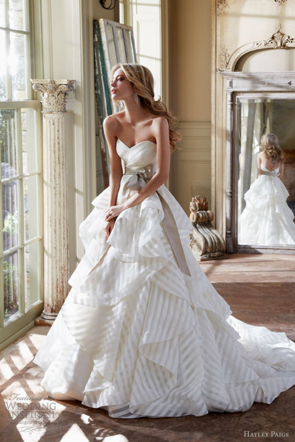 The Most Stylish Wedding Dresses : The most amazing wedding dresses hairstyles and fashion