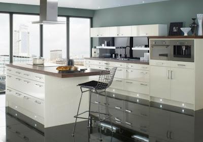 foto cocina gris