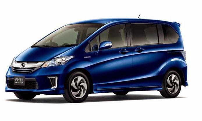 Honda Freed Terbaru 2015