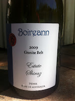 Bottle image: Boireann Estate Shiraz 2009