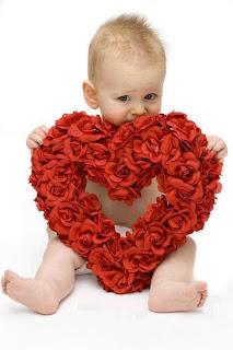 Ver imágenes de amor con corazones  bebe