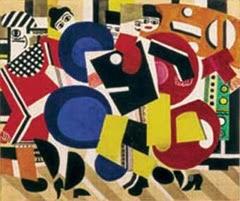 Una obra cubista de Fernand Léger