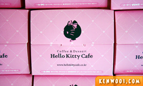 hello kitty cafe box