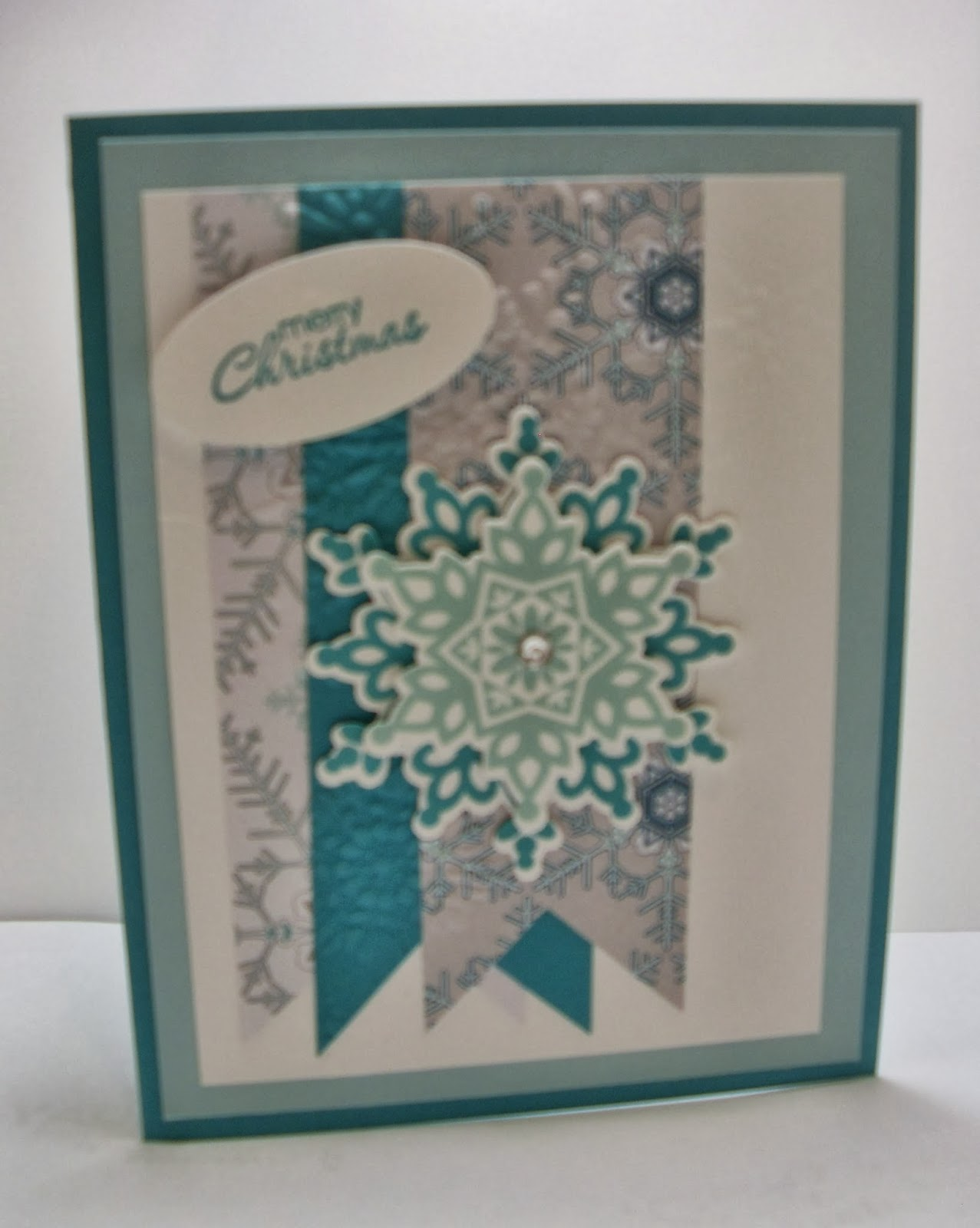 Eileen\'s Stamping Corner: Non-traditional Christmas Card