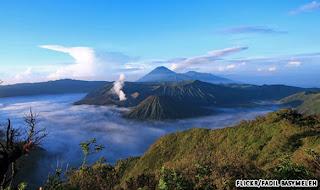 gunung api Bromo Indonesia