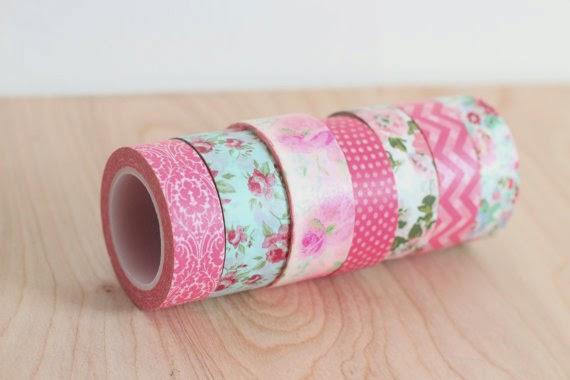 10 ideas para decorar tu boda con washi tape blog de - Como decorar con washi tape ...
