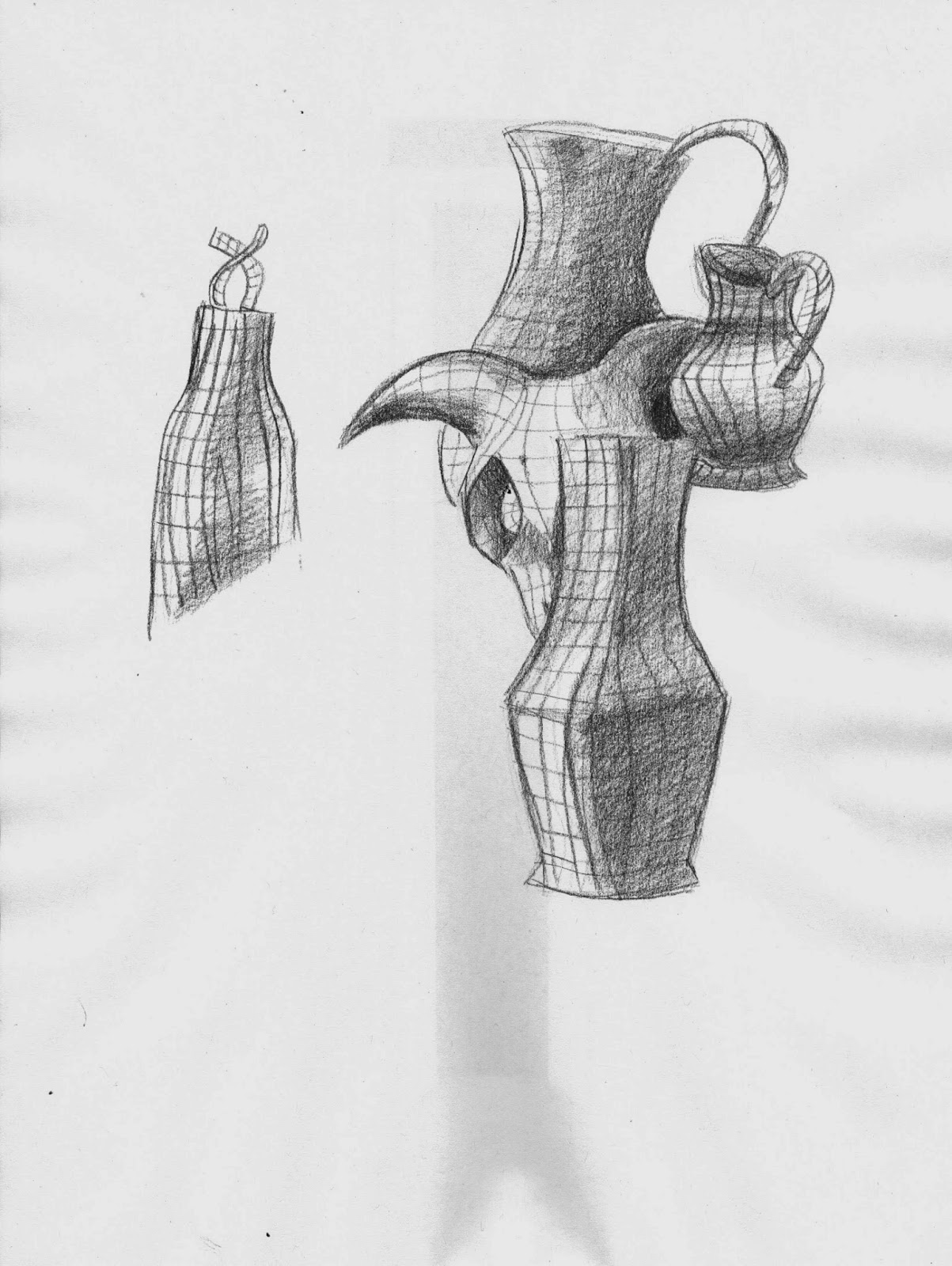 ieva smalioryte observational drawing blog: still life: 2d shape and