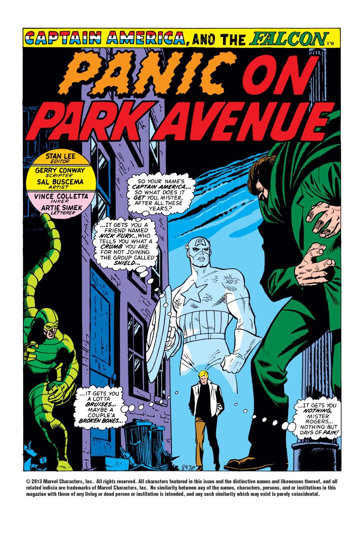 Captain America (1968) Issue #151 #65 - English 2