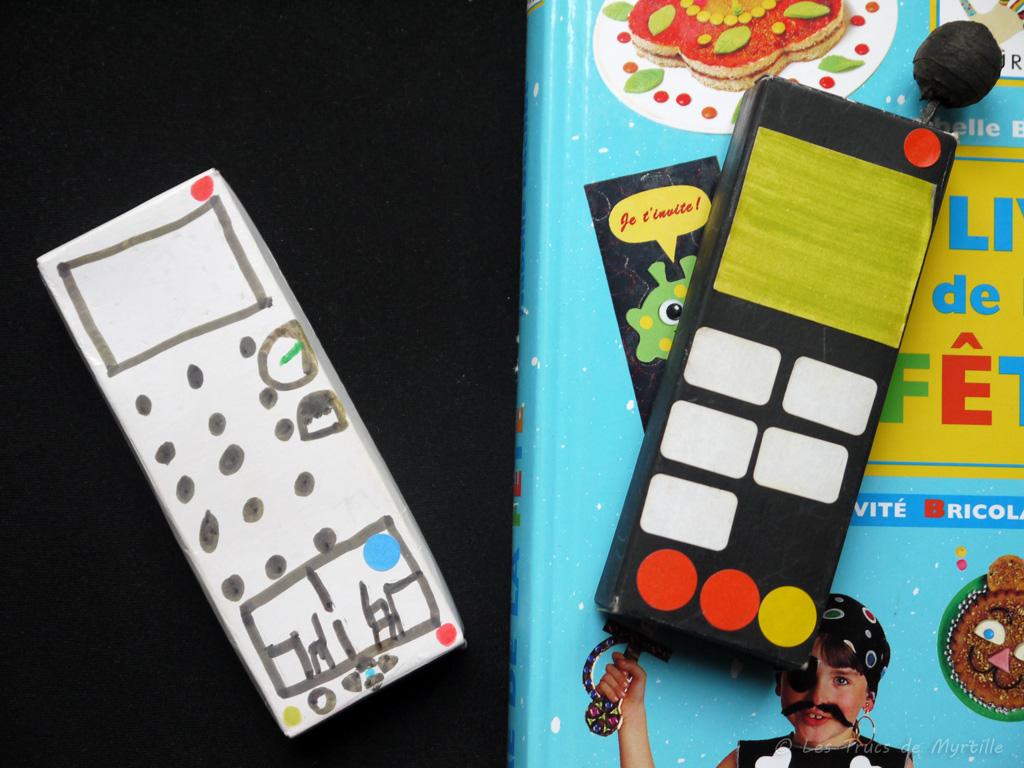 Les Trucs De Myrtille Fabriquer Un T L Phone En Carton