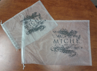 Get FREE Miche Bag Sheer Shell Storage Bags