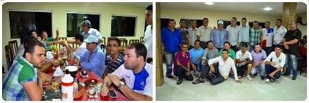 Foi em meio a boa música que a imprensa limoeirense se confraternizou na noite desta terça-feira.
