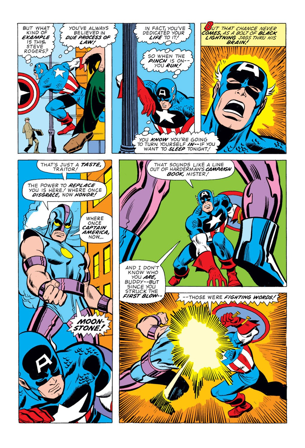 Captain America (1968) Issue #170 #84 - English 5