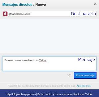 twitter-enviar-mensaje