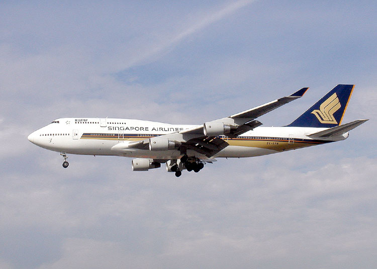 Jet Airlines: boeing 747