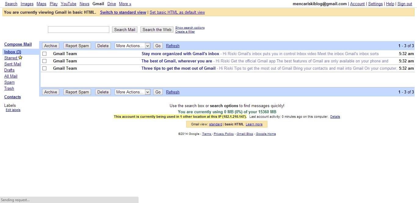 Cara Membuat Email Google (Gmail) gambar 6