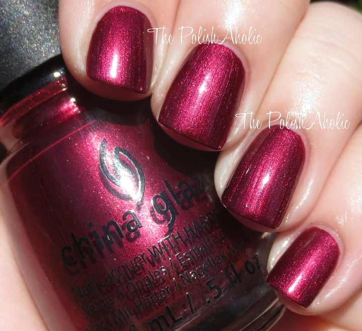 The Polishaholic China Glaze Holiday 2017 Le Collection Swatch Review