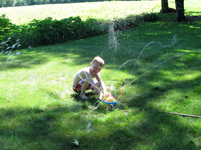 Porter and the Sprinkler