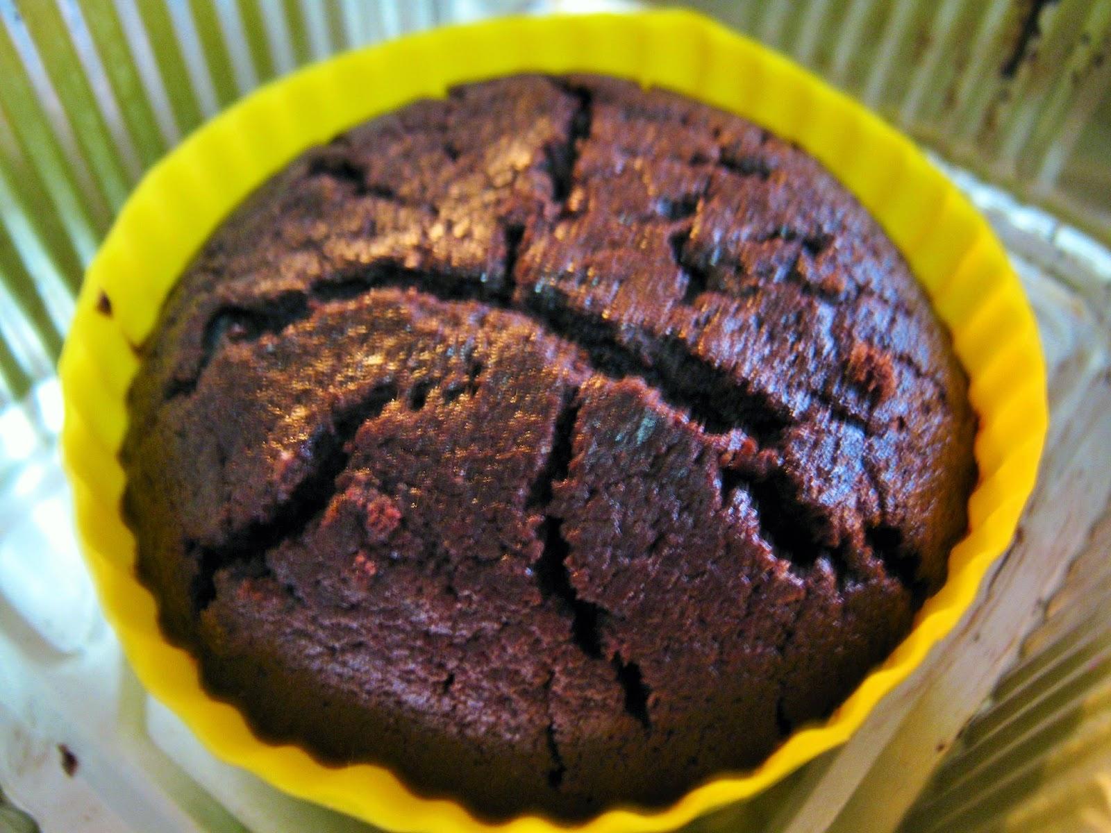 tortino con il cuore  morbido in forno