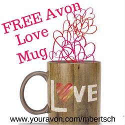 Free Avon Love Mug