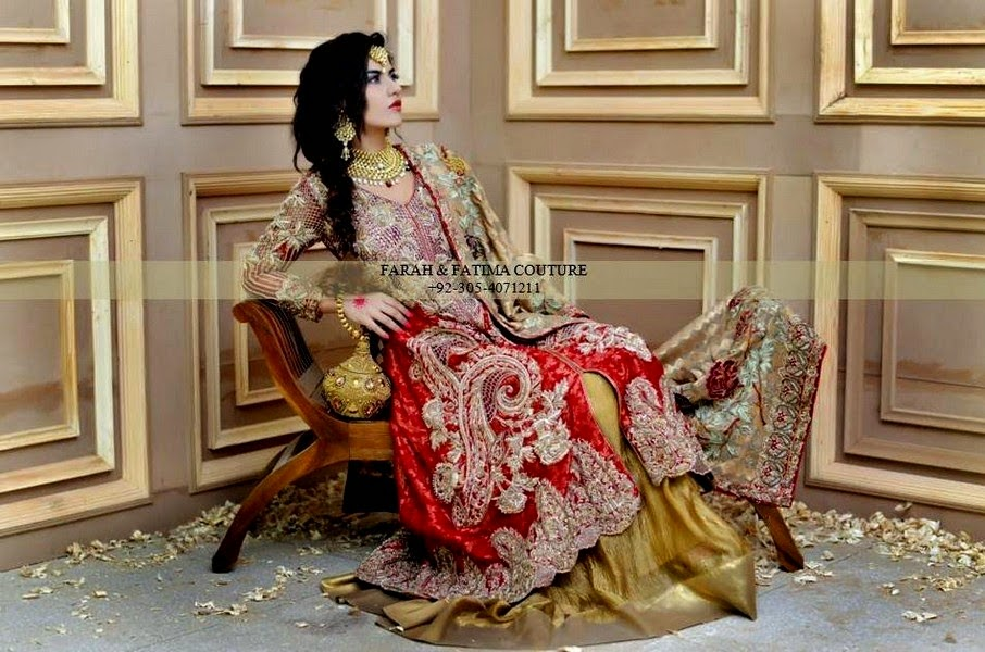 Formal Embroidered Dresses for Bridal Party by Farah & Fatima