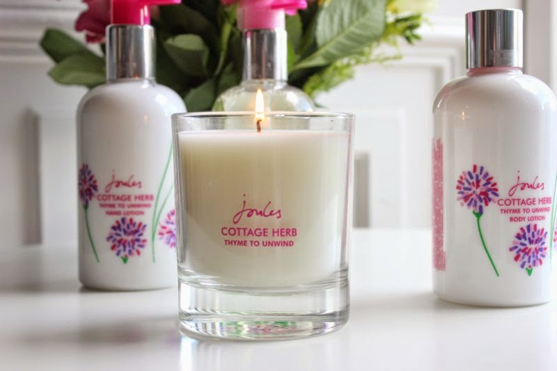 Joules Cottage Herb Bath, Body and Candle Collection