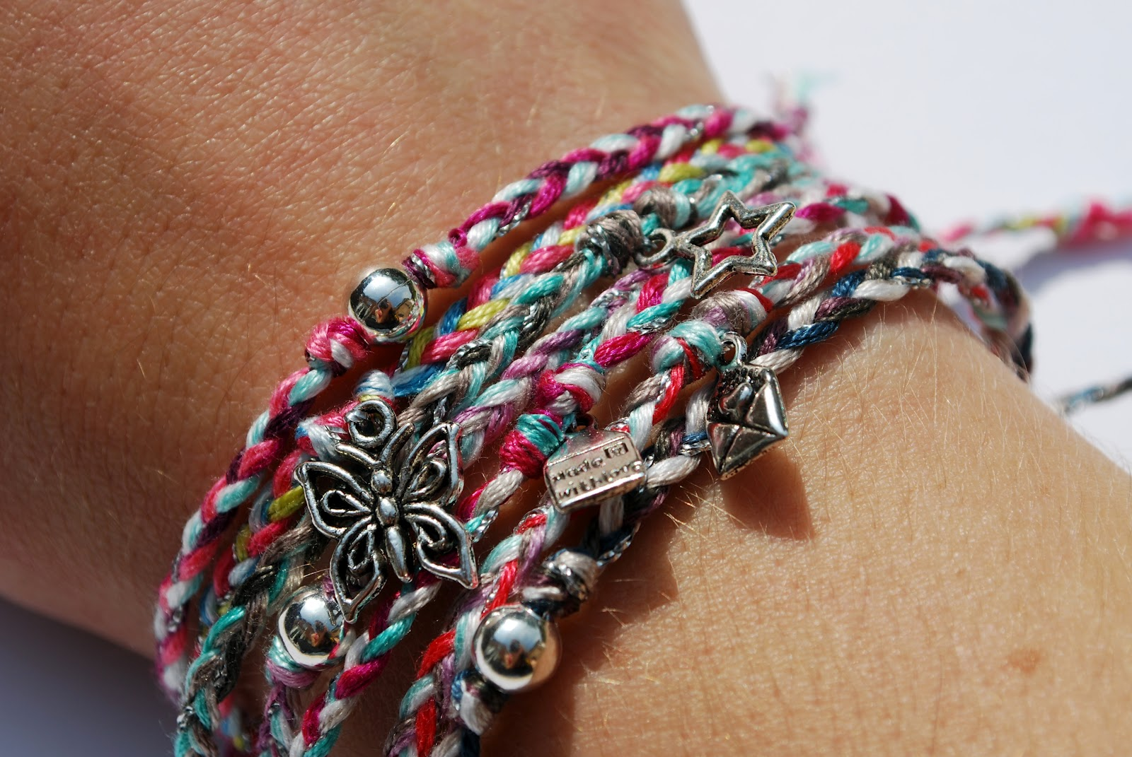 Below Are A Couple Of Special Bracelets That I Wanted To Feature  Individually, First, A Pink Friendship Bracelet With Hope Ribbon Charm, $1  From Each Sale