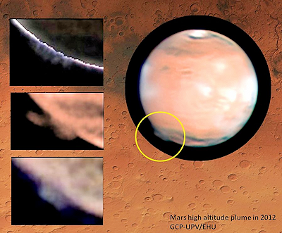 Huge, Mysterious Plume Recorded on Mars
