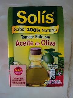 Tomate frito Solís Aceite de Oliva