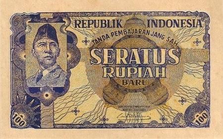 Uang Kertas 100 Rupiah 1949