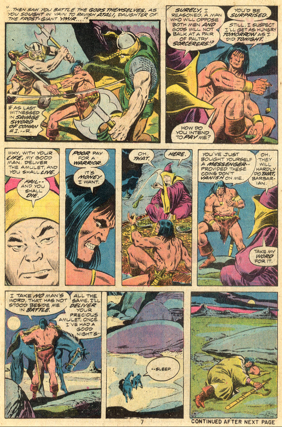 Conan the Barbarian (1970) Issue #46 #58 - English 6