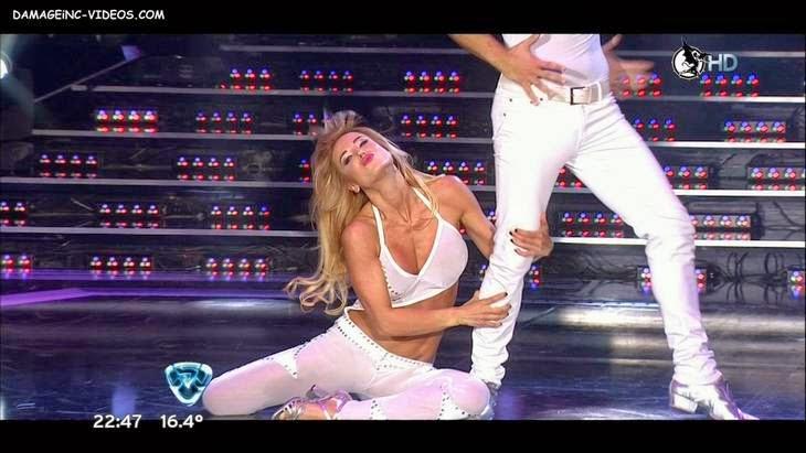 Argentina celebrity Jesica Cirio hot dancing HD video