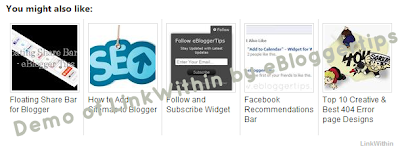 Top Related Posts Widget for Blogger
