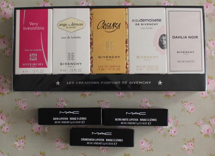 duty free haul perfume and lipstick