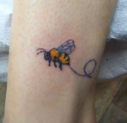 Bumblebee Tattoos By Tattoostimecomjpg