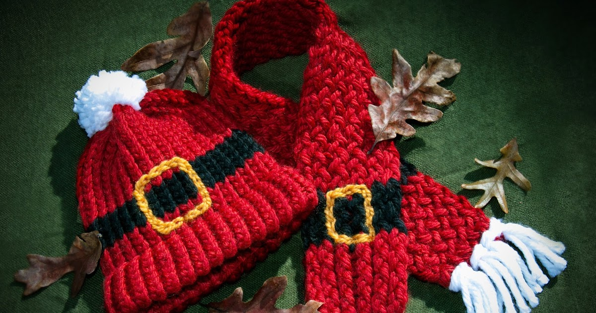 Loom Knitting By This Moment Is Good Loom Knit Santa