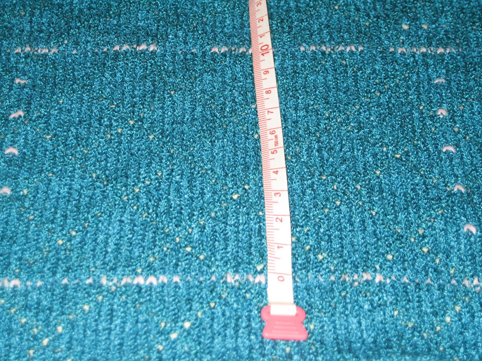 Knitting Gauge Calculator : How to measure gauge knitting