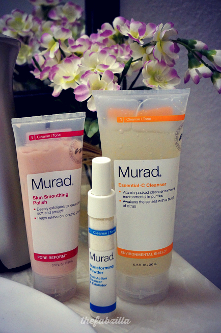Murad Essential C-Cleanser, Murad Skin Smoothing Polish,Murad Transforming Powder Dual-Action Cleanser and Exfoliator, Review, Anti-Acne, Fight Pimples, Best anti-acne, prevent wrinkles