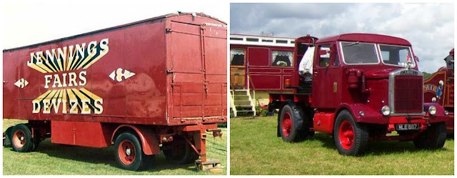 Scammell and Box Truck