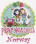 I design for the The Paper Nest Dolls Norway