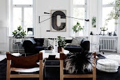 #9 Black & White Livingroom Design Ideas