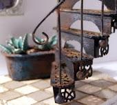 DIY- Escalera de caracol victoriana- Victorian spiral staircase
