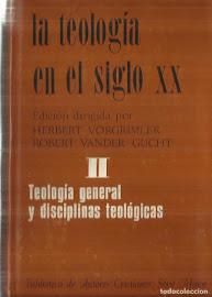 LA TEOLOGÍA DEL SIGLO XX TOMO 2 – HERBERT VORGRIMLER