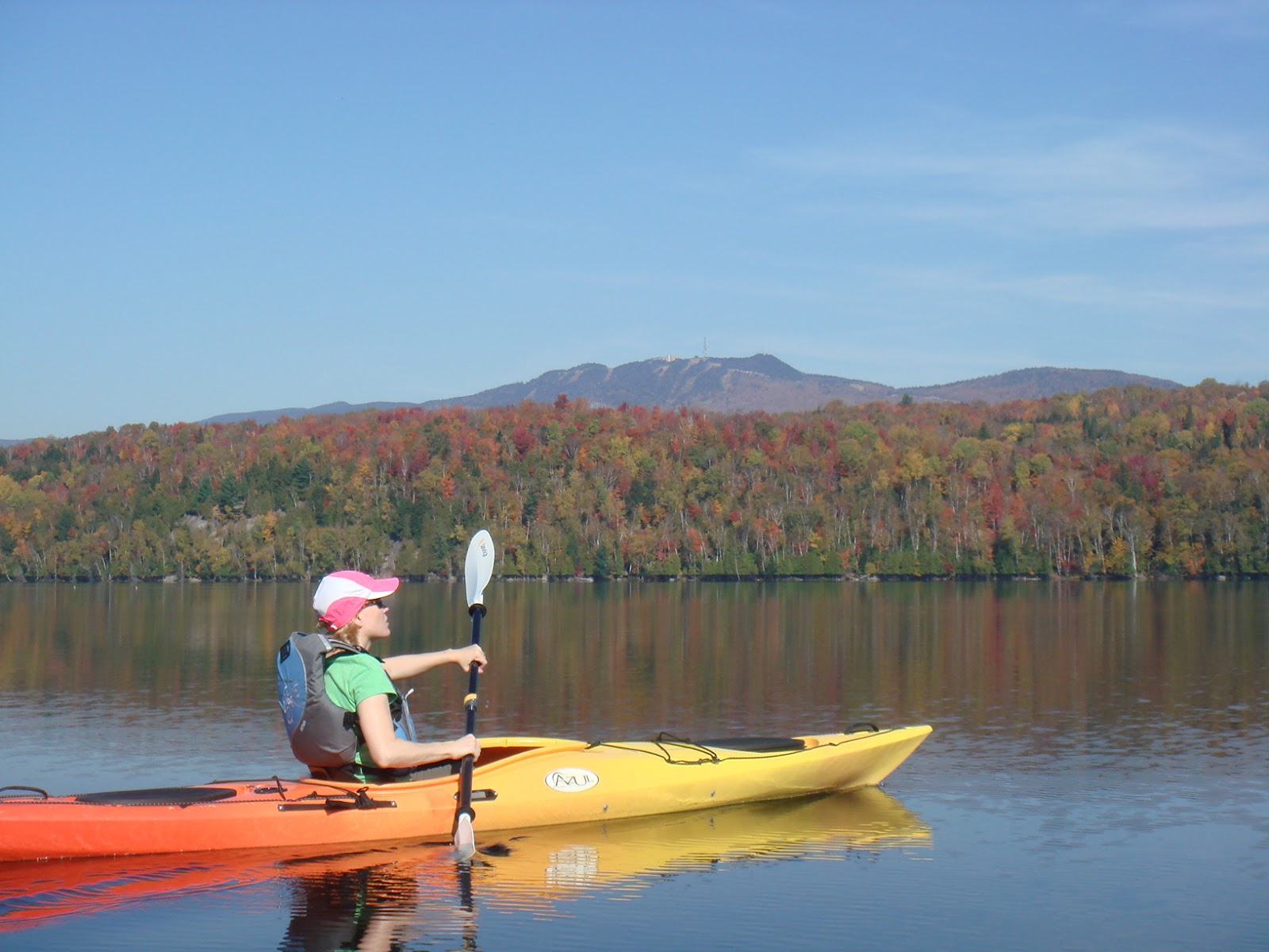 The unofficial guide to mont tremblant lake kayaking for Lac miroir mont tremblant