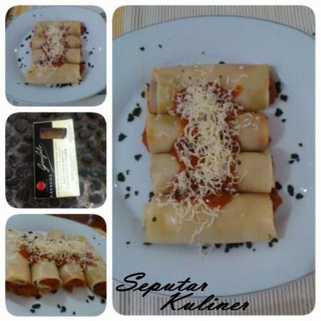 Resep dan Cara membuat Lasagna Gulung Praktis