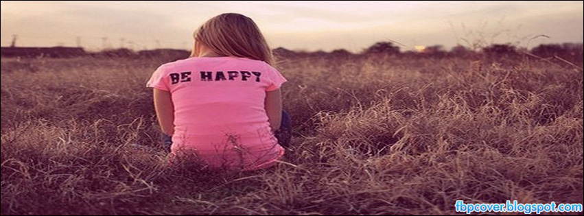 I Am Alone But Happy Facebook Cover Sad, alone, girl, cute...