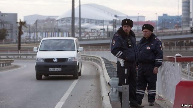Pasukan Rusia Perketat Pengamanan Kota Sochi