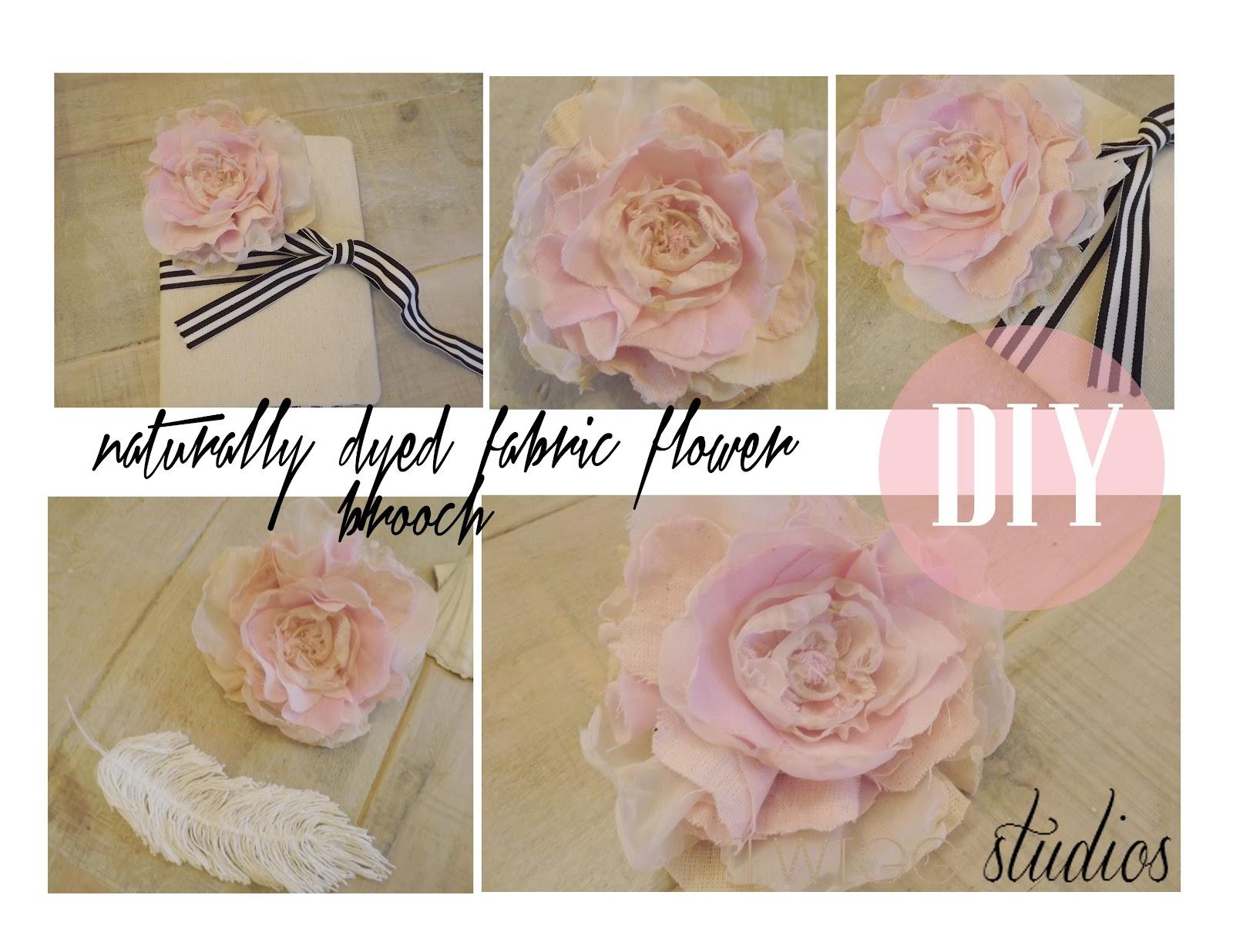 Dyed scrap fabric flower brooch twigg studios dyed scrap fabric flower brooch mightylinksfo