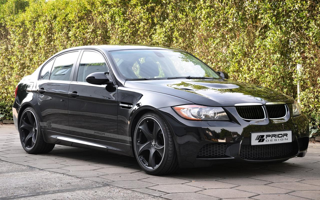 wide body kit for the e90 bmw 3 series by prior design car tuning styling. Black Bedroom Furniture Sets. Home Design Ideas