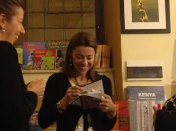 """Presentazione di """"Tunisi, taxi di sola andata"""" presso la libreria Griot di Roma, 28 marzo 2012"""