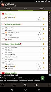 aplikasi berita sepak bola online